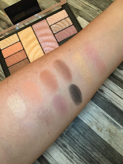 Maybelline Total Temptations Eyeshadow + Highlight Palette (Review and Swatches)
