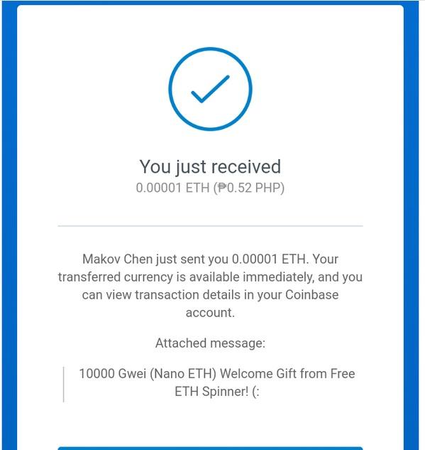 Free Ethereum Spinner | Coins Hub