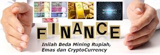 Inilah Beda Mining Rupiah, Emas dan CryptoCurrency