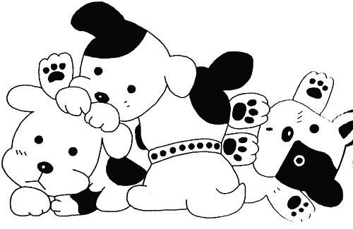 Artes da nil riscos e rabiscos cachorrinhos fofos - Dessin chien mignon ...
