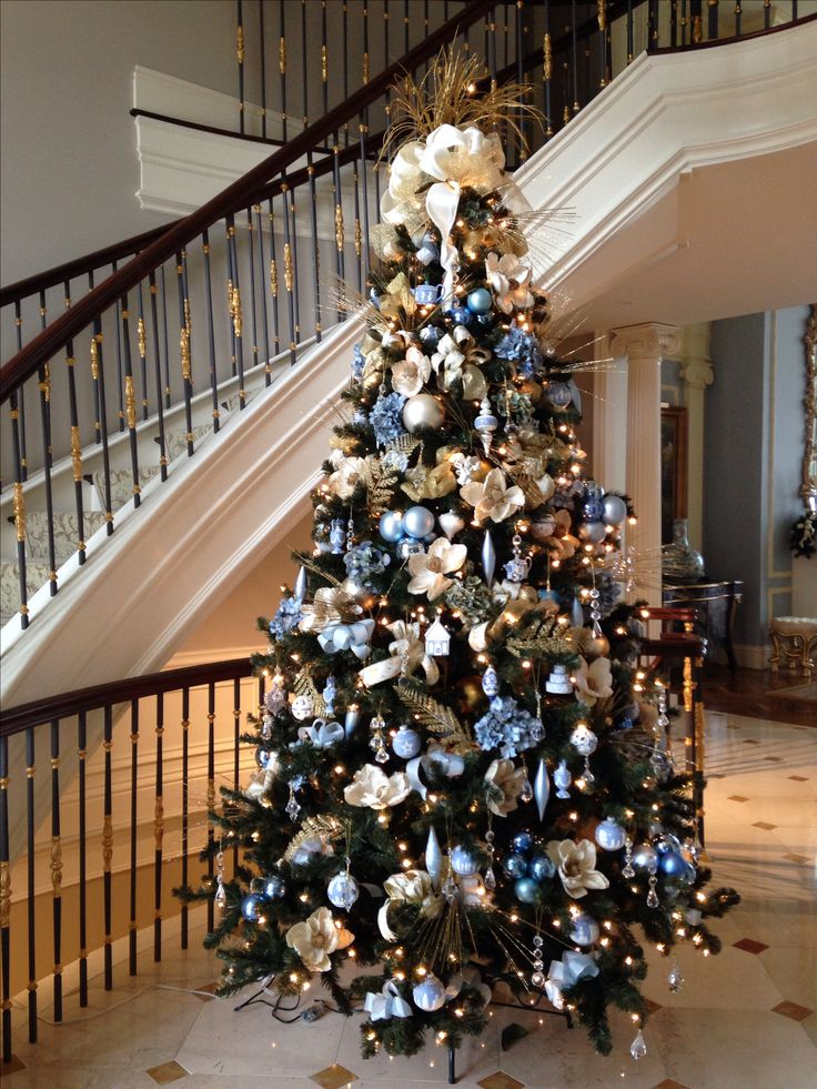 Ordinaire Elegant Christmas Tree Decorating Ideas