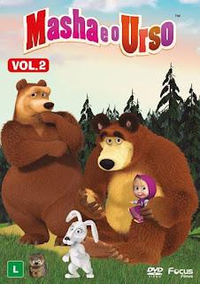 Masha e O Urso: Vol. 2 - DVDRip Dublado