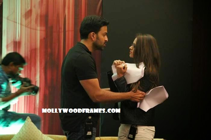 Rehearsals in workshop of 'Ivide' Malayalam movie