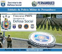 Apostila Concurso PMPE 2016 - Soldado PM (Grátis CD) Pernambuco