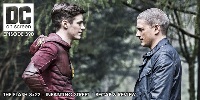 Barry and Captain Cold have a chat
