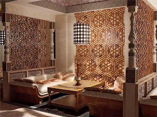 Decoración árabe sala