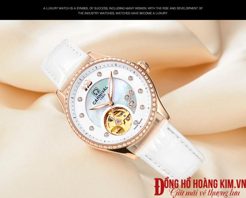 Đồng hồ nữ Carnival 1986 chính hãng Thụy Sỹ