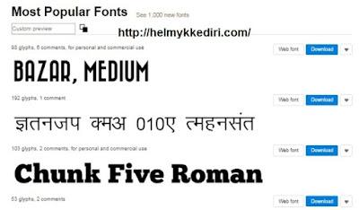 Daftar situs penyedia font gratis8