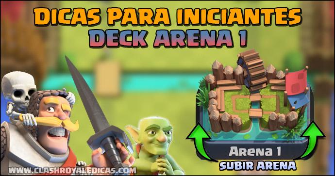 Deck para Iniciantes Arena 1