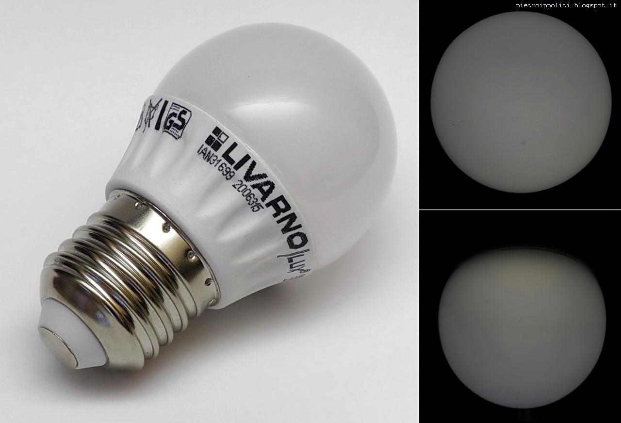 Livarno lux led lamp 3w E27 lidl 11 sett 2014