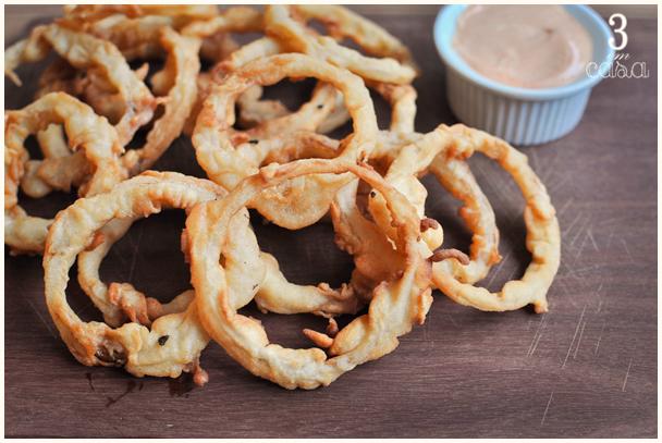 receita de onions rings