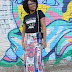 LOOK DO DIA - Saia Longa e T-shirt da 70x7