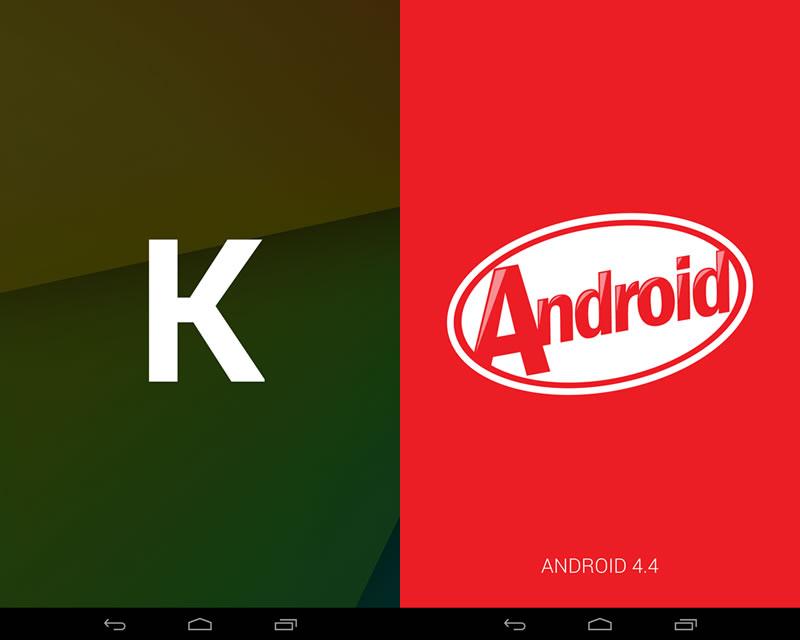 Nexus7(2013) Android 4.4(KitKat) - イースターエッグ