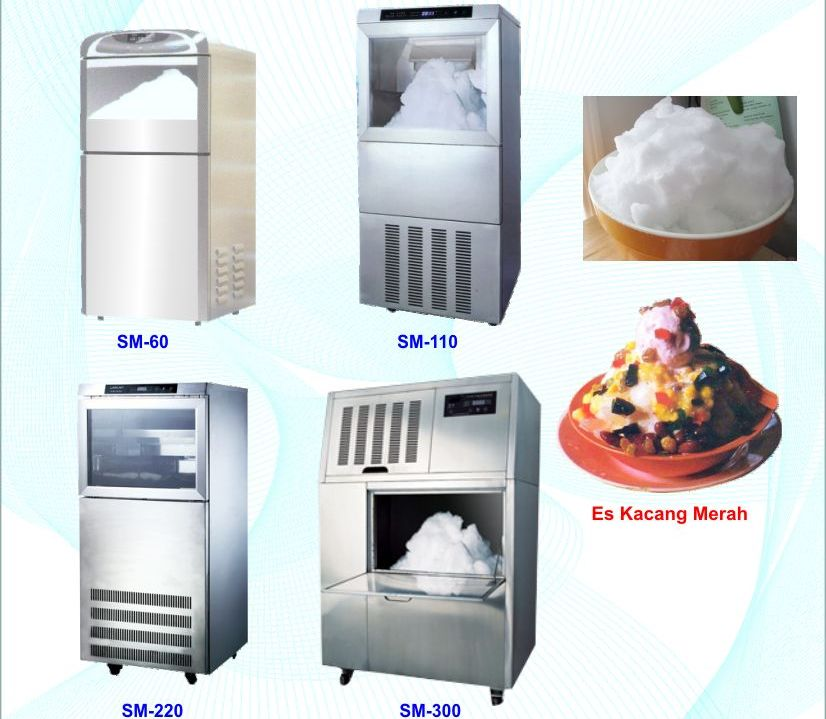 Anugerah Jaya Food Machine Snow Ice Maker Mesin Pembuat