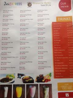 menu-restoran-Hotel-Zuri-Express-Palembang