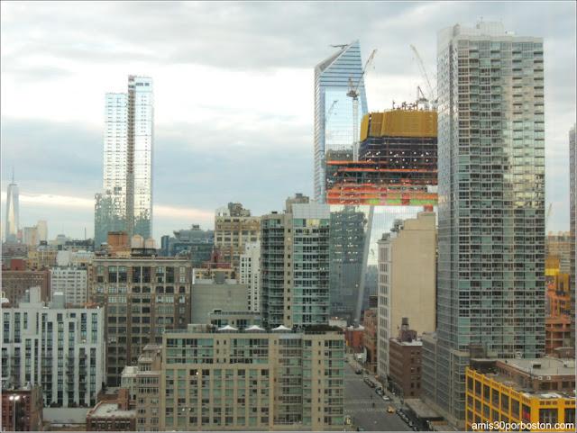 Vistas desde la Habitación del Hotel Yotel en Nueva York