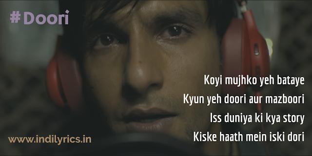 Doori | Ranveer Singh | Gully Boy | Lyrics | Quotes