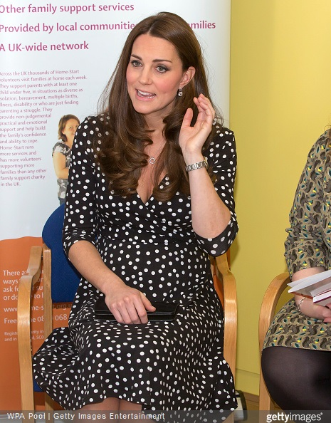 Kate Middleton visits the Brookhill Children's Centre