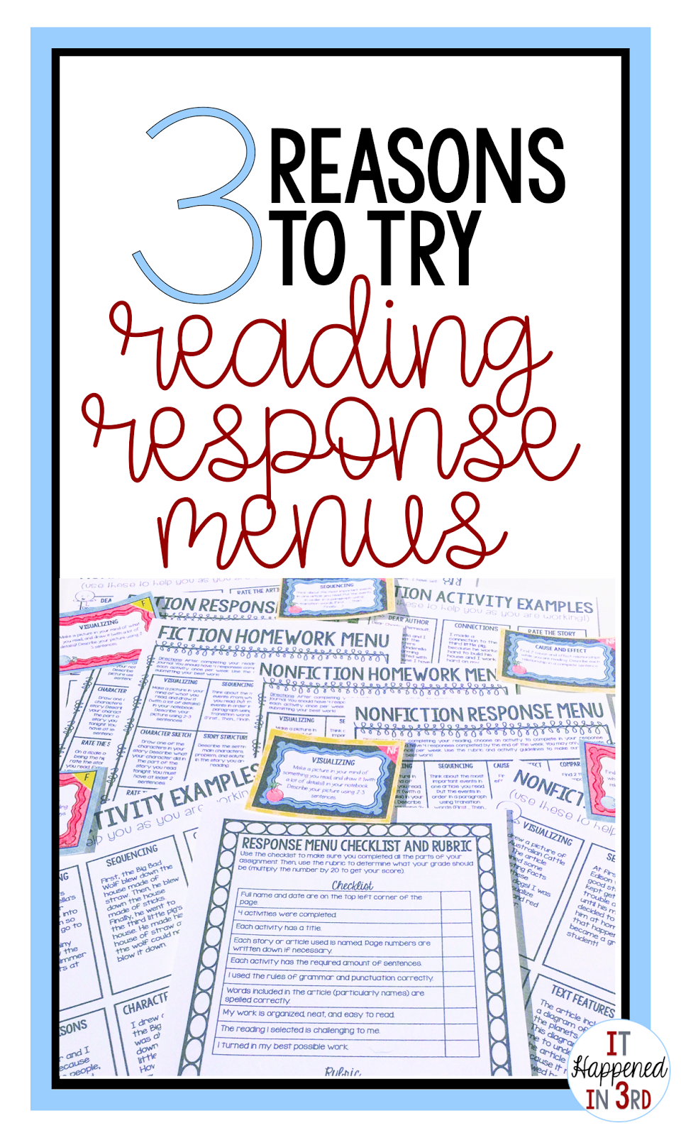 13 reasons why reading response