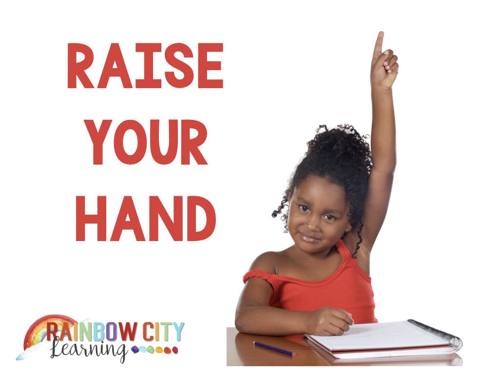 Raise Your Hand - RCL Raising
