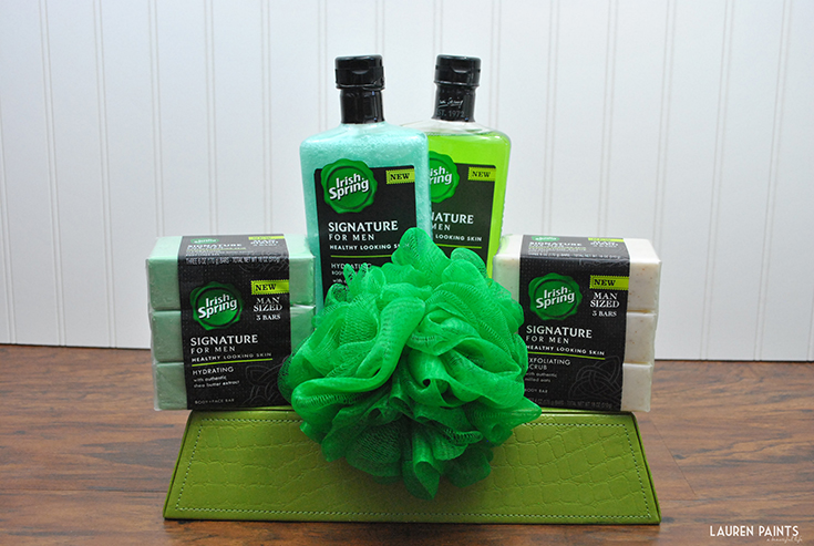 "A Sensible, ""Scentsable"" Gift Basket for Him - This sensible gift basket is the perfect way to spoil the man in your life, giving him items he'll need and love!"