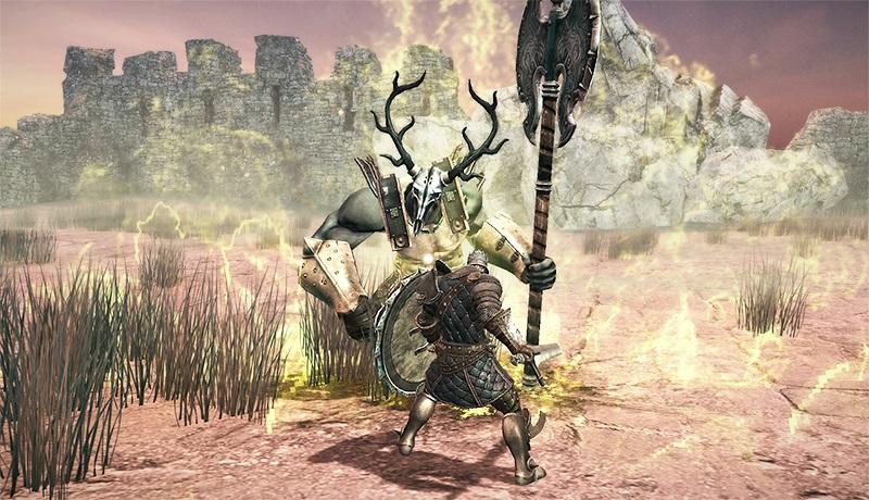 تحميل افضل لعبة شبيهة ل DARK SOUL الشهيرة ( من العاب PS4) للاندرويد بدون نت رابط مباشر Mediafire