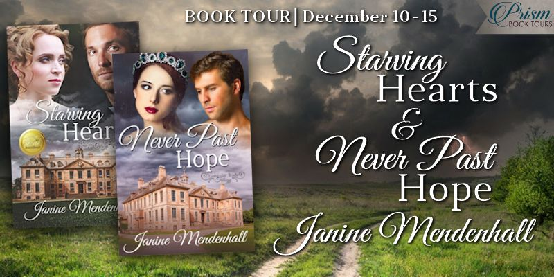 We're launching the Book Tour for STARVING HEARTS and NEVER PAST HOPE by Janine Mendenhall!