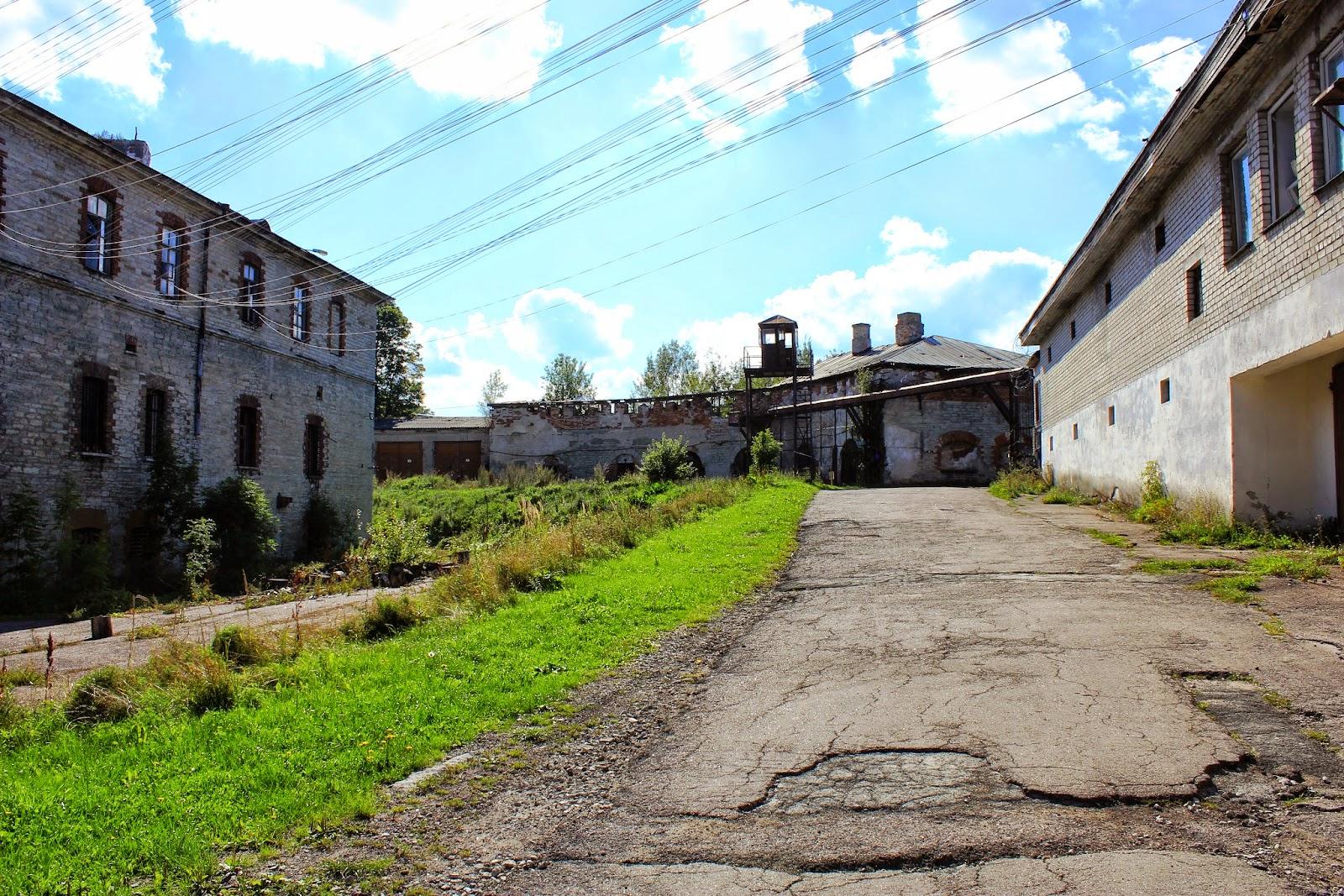 Nieczynne Więzienie nad wybrzeżem w Tallinnie