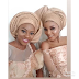 How Nigeria stars such as Tania Omotayo, Lola OJ, Lala Akindoju, others turned up for Adekunle Gold and Simi's wedding