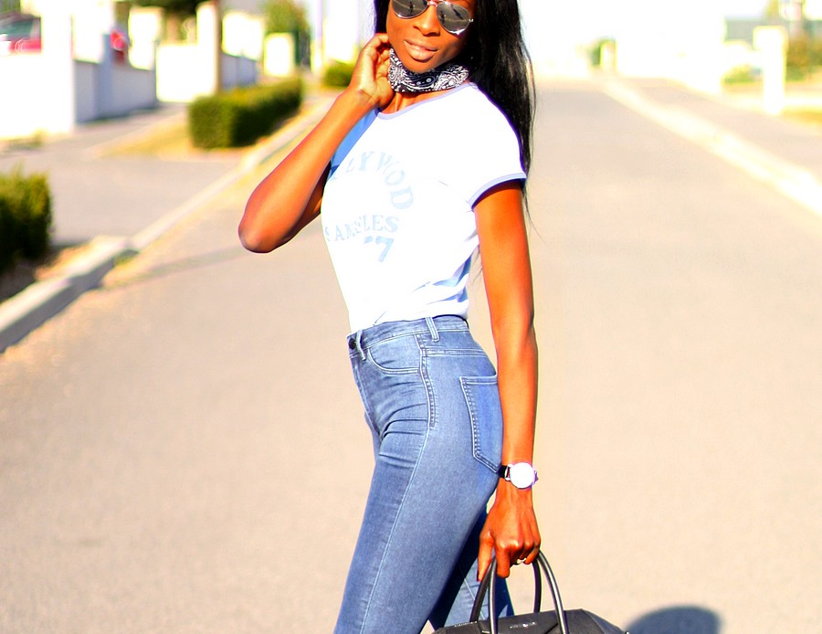 bandana-highwaist-jeans-blogger