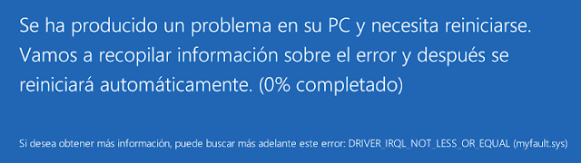 Windows: Provocar pantallazo azul