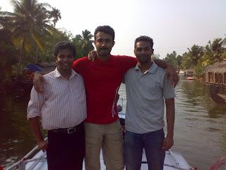 Sreekanth S at Kumarakom