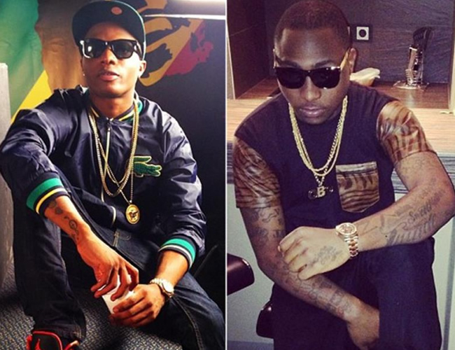 Wizkid,Davido winners at the Future Awards Africa 2017