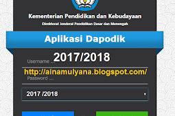 [Aplikasi] Dapodikdasmen VERSI 2018 a (Dapodikdasmen VERSI 2018a)