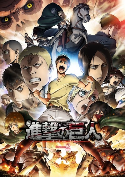 [BDrip] Shingeki No Kyojin T2 (Cast-Eng-Jap+Sub) [1080p] [12/12]