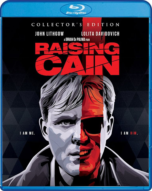 Raising Cain Blu-ray cover