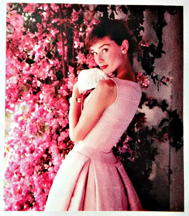 Audrey Hepburn exhibition flyer