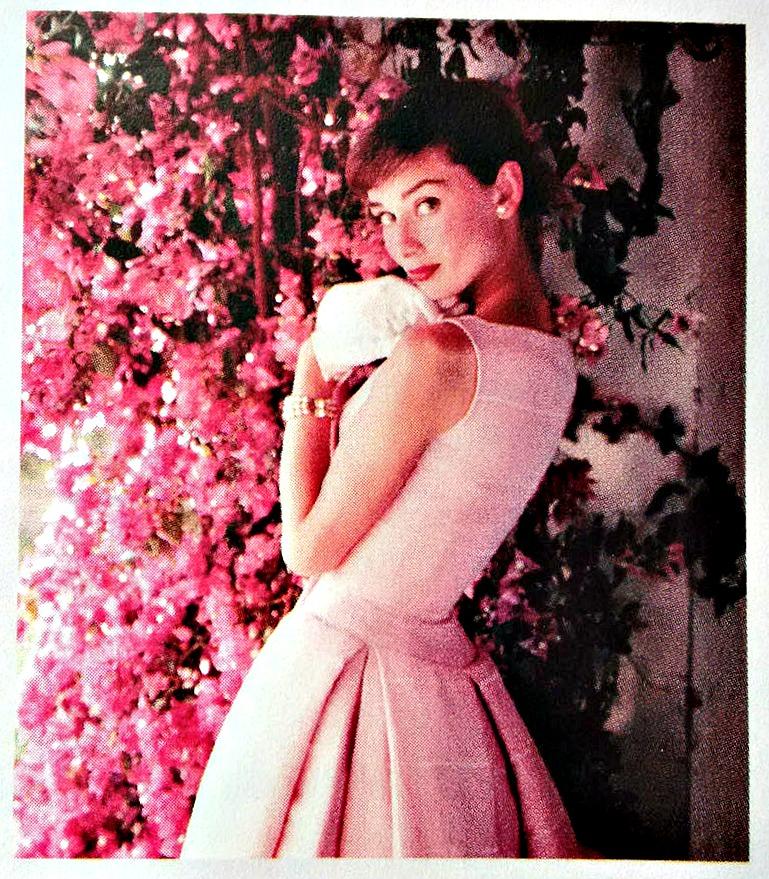 Audrey Hepburn exhibition flyer