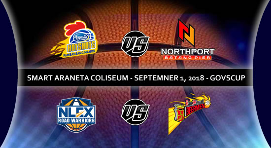 List of PBA Game(s): September 1 at Smart Araneta Coliseum 2018 PBA Governors' Cup
