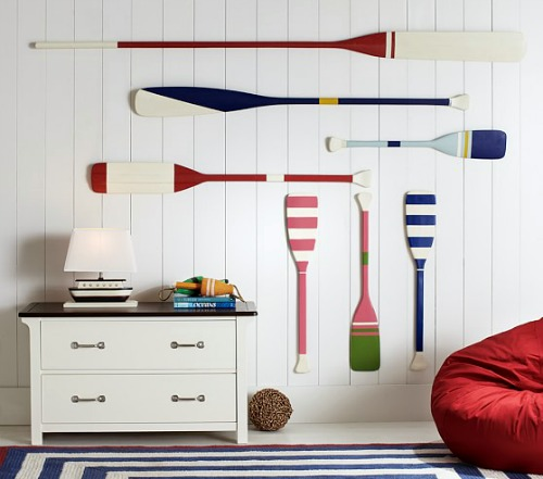 Decorating Ideas With Wooden Oars Amp Paddles Wall Decor