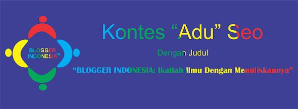 BLOGGER INDONESIA: Ikatlah Ilmu Dengan Menuliskannya