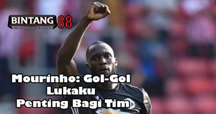 Mourinho: Gol-Gol Lukaku Penting Bagi Tim