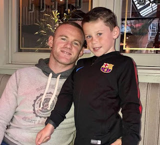 rooney and his son