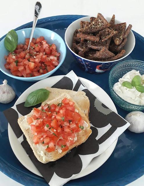 valkosipulileipä somaarki