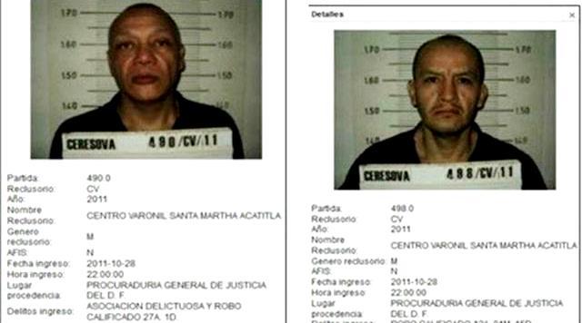 Funcionarios coludidos en fuga de secuestradores