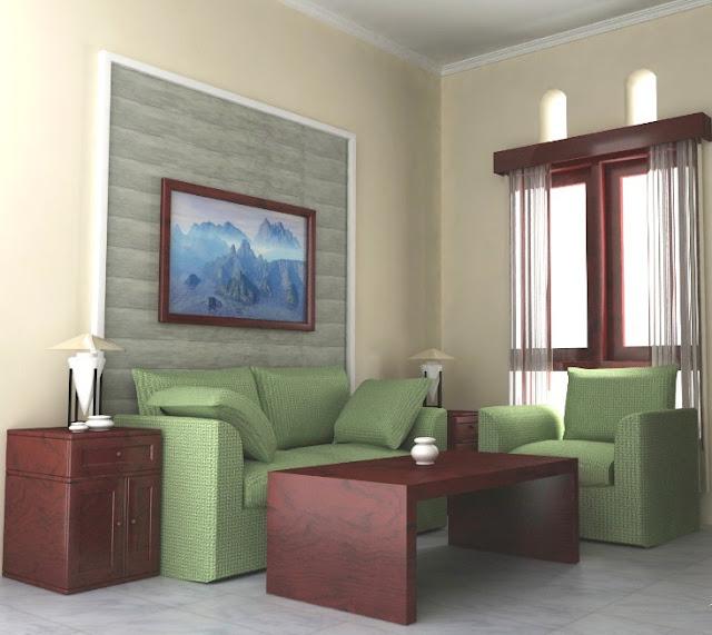 desain interior rumah sangat sederhana sekali