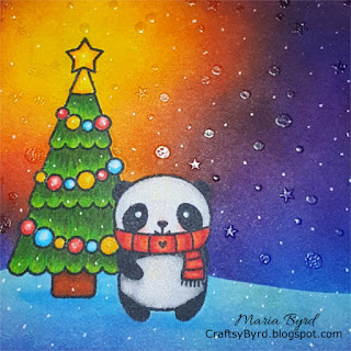 Lawn Fawn Panda Party Christmas Dreams