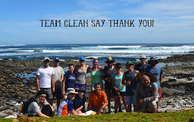 A huge thank you from Team Clean!