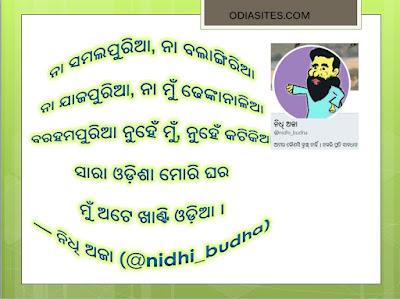 nidhi budha funny quote odia