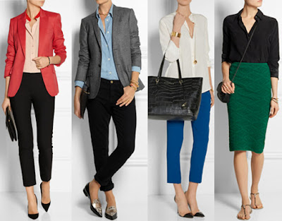 business casual looks Wardrobe Tips for Female Commercial/Print Models